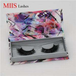 3D Mink Eyelashes Custom Boxes MLB059