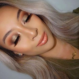 How to make a party makeup with a sense of joy but no threaten?