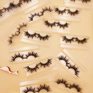 wholesale mink lashes vendor false eyelashes wholesale human lash factory