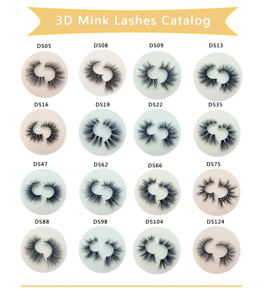 3D MINK LASHES DL SERISE CATALOG