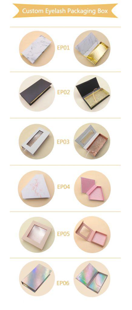 Custom Eyelash Packaigng Box catalog