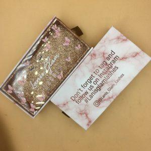 eyelashes packaging box