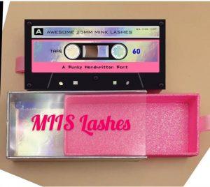 cassette pate eyelash packaging boxes