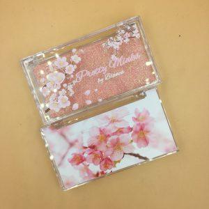 clear lash custom packaging