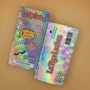Holographic Custom Lash Woods Packaging Vendor
