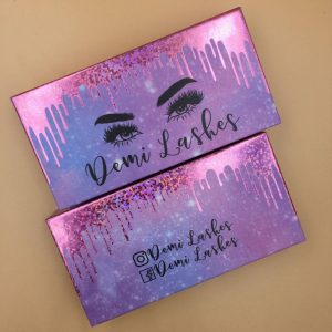Starry sky lash packing box