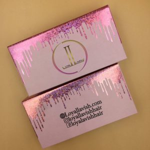 Pink Glitter Custom Eyelash Packaging Boxes (41)