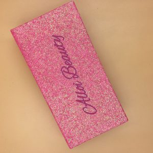 Pink Glitter Custom Eyelash Packaging Boxes (6)