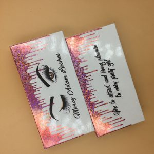 lash box packaging