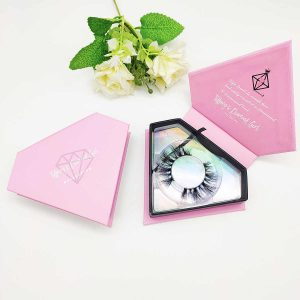 make a beautiful eyelash boxes