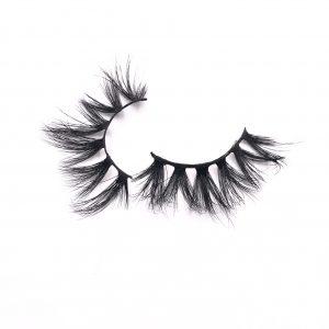 Cross-type mink eyelashes