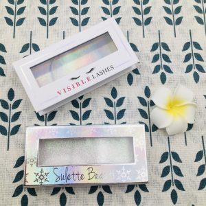 custom eyelashes packaging boxes