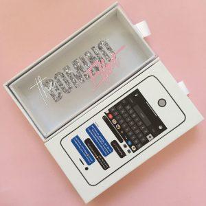 I Phone Custom Eyelash Packaging Boxes