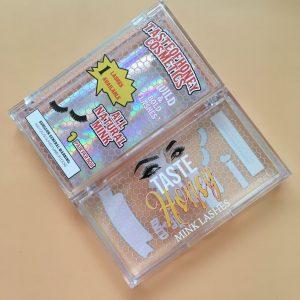 Lashwoods Clear Custom Eyelash Packaging Boxes