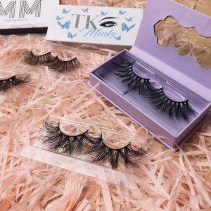 custom empty eyelash box